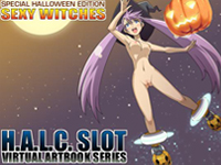 H.A.L.C Solt Virtural ArtBook Series Special Halloween Edition Sexy Witches APK